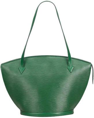 Louis Vuitton Green Epi Leather Saint Jacques Long Strap GM Shoulder Bag