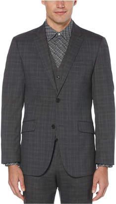 Perry Ellis Men Slim-Fit Stretch Plaid Suit Jacket