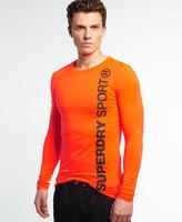 Superdry Gym Sport Runner Long Sleeve Top