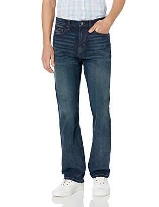 Amazon Essentials Straight-Fit Stretch Bootcut Jean30W x 34L