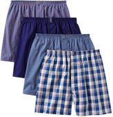Jockey Men's 4-pk. Classic Full Cut Woven Boxers