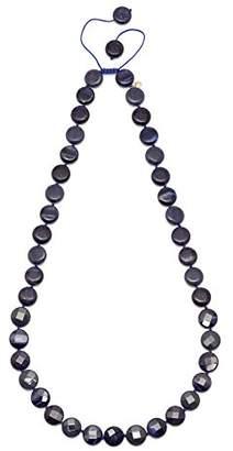 Lola Rose Teresa Bss Navy Tigers Eye Necklace of 41cm