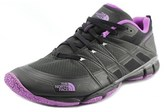 The North Face Litewave Ampere Women Round Toe Synthetic Black Sneakers.