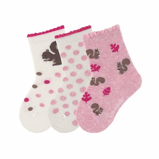 Sterntaler Girl's Baby-sockchen 2er-Pack Igel Socks