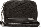 Alexander Wang Prisma textured-leather pouch
