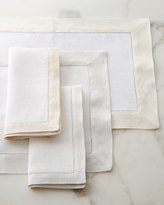 Filetto White/Gold Placemats, Set of 4