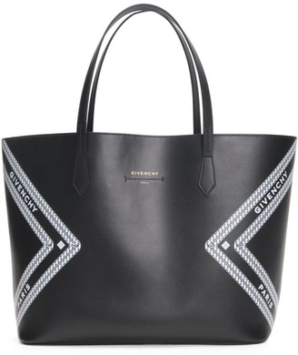 Givenchy Wing Logo Leather Tote