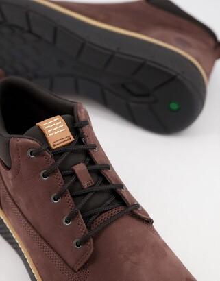 Timberland cross mark chukka boots in brown
