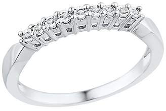 1/20 CT. T.W. Round Diamond Miracle Set Fashion Ring in Sterling Silver (5.5)