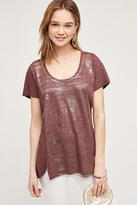 Sol Angeles Shimmered Scoop Tee