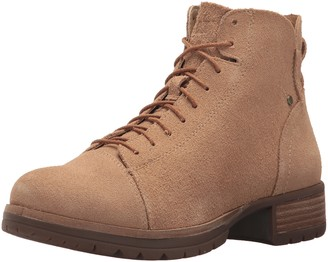Caterpillar Women's Delancy Vintage Inspired Mid Height lace up Boot with Zip Closure Fashion