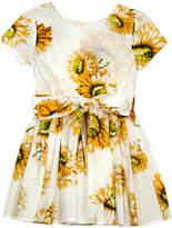 Morley Harper Belted Sunflower Dress