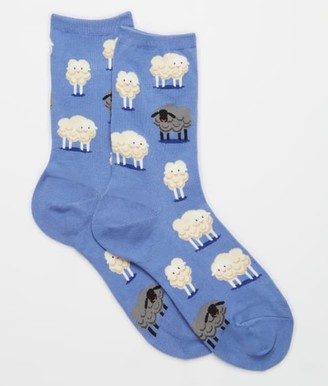 Hot Sox Black Sheep Crew Socks