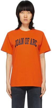 Noah NYC Orange Joan Of Arc T-Shirt