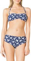 Michael Kors Floral-Print Bandeau Bikini