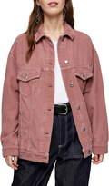 Topshop Dad Oversize Corduroy Jacket