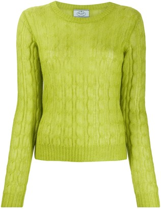 Prada Cable-Knit Jumper