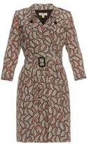 Burberry Agatha floral-print silk dress
