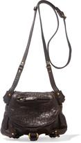 Jerome Dreyfuss Twee Mini textured-leather shoulder bag