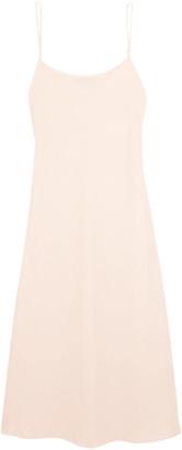 The Row Gibbons Crepe Midi Slip Dress