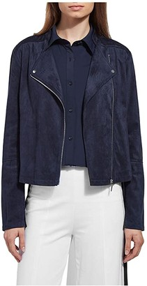 Lysse Essential Summer Suede Jacket (True Navy) Women's Clothing