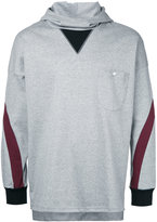 Factotum contrast hoodie