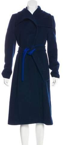 Altuzarra Long Virgin Wool Coat