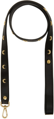Marine Serre SSENSE Exclusive Black Moon Stud Leash