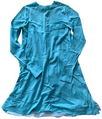 Sacai Luck Turquoise Wool Knitwear for Women