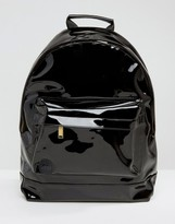 Mi-Pac Black Patent Backpack