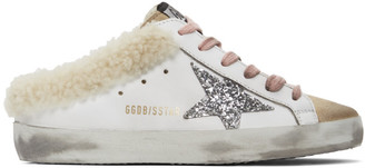 Golden Goose White Superstar Sabot Sneakers
