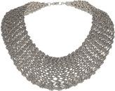 Topshop Premium Knitted Chain Collar