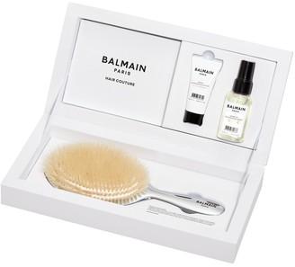 Balmain Paris Hair Couture Silver Spa Brush