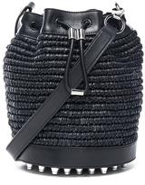 Alexander Wang Raffia Bucket Bag