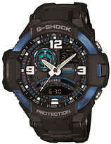 G-Shock Mens G-Aviation Black and Blue Watch