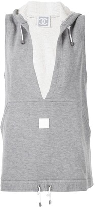 Chanel Pre Owned Sport Line sleeveless vest top
