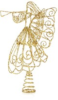 Bloomingdale's Gold Glitter Wire Angel Tree Topper - 100% Exclusive