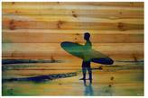 Parvez Taj Surf at Dusk by Wood)