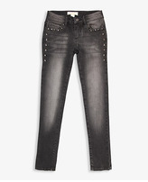 Forever 21 Studded Skinny Jeans