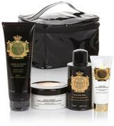 Perlier Imperial Honey 4-piece Set with Black Train Case
