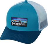 Patagonia P6 Logo Trucker Cap Blue