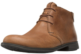 Camper Round-Toe Leather Boot