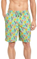 Peter Millar Men's Hula Girl Swim Trunks