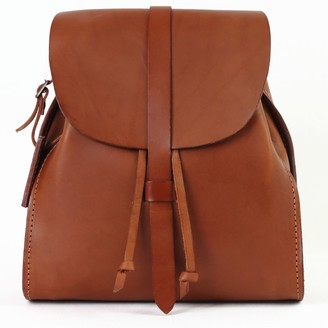 The Dust Company Mod 130 Backpack in Cuoio Brown