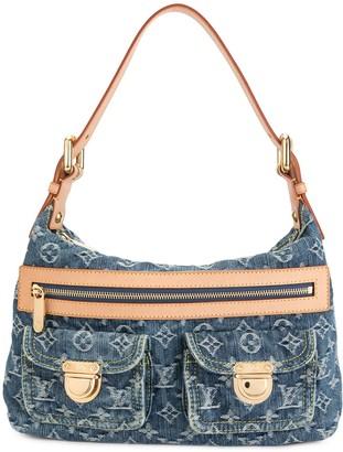 Louis Vuitton Baggy PM Monogram denim shoulder bag