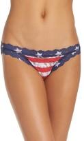 Hanky Panky Women's Stars & Stripes Brazilian Bikini