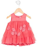 Little Marc Jacobs Girls' Embroidered Sleeveless Dress