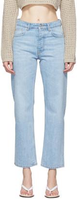 Nanushka Blue Amarillo Jeans