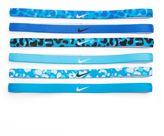 Nike 6-pk. Logo Leopard Sport Headbands