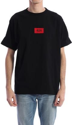 FourTwoFour on Fairfax T-shirt Logo Black